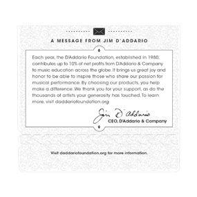 Encordoamento D'addario para Violão Nylon EJ46LP Transparente - Pesada Pro-Arté