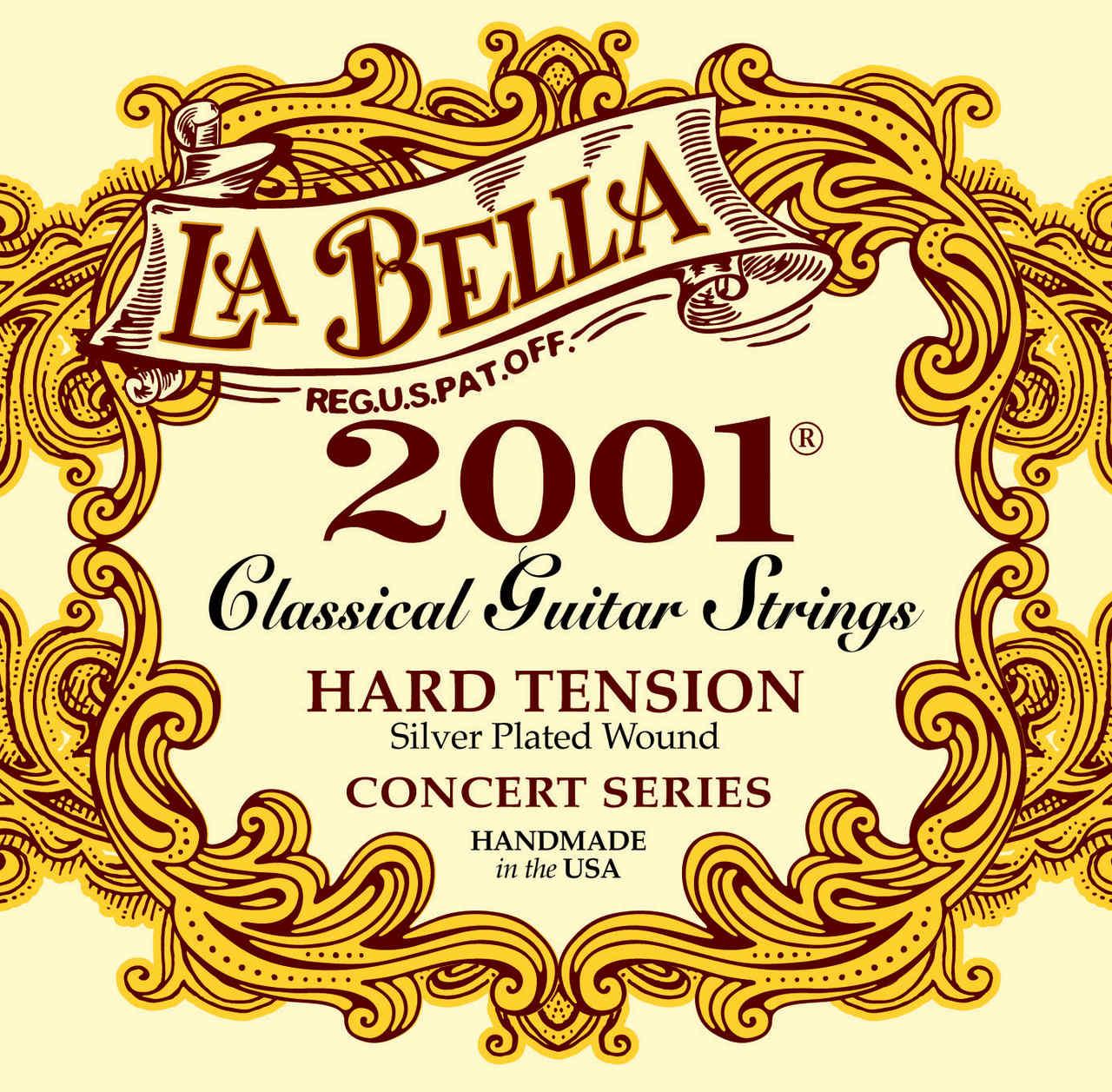 Encordoamento Labella para Violão Nylon 2001 HARD