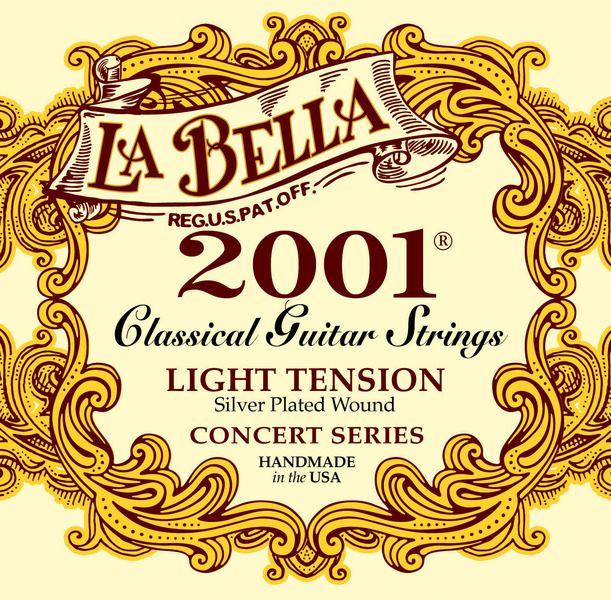 Encordoamento Labella para Violão Nylon 2001 LIGHT
