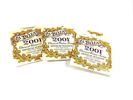 Encordoamento Labella para Violão Nylon 2001 MEDIUM