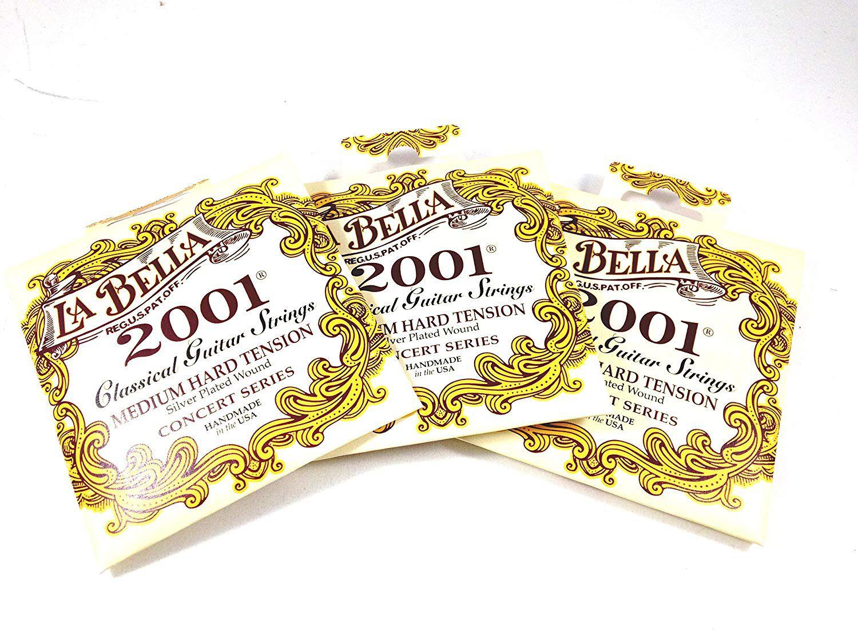 Encordoamento Labella para Violão Nylon 2001 MEDIUM HARD