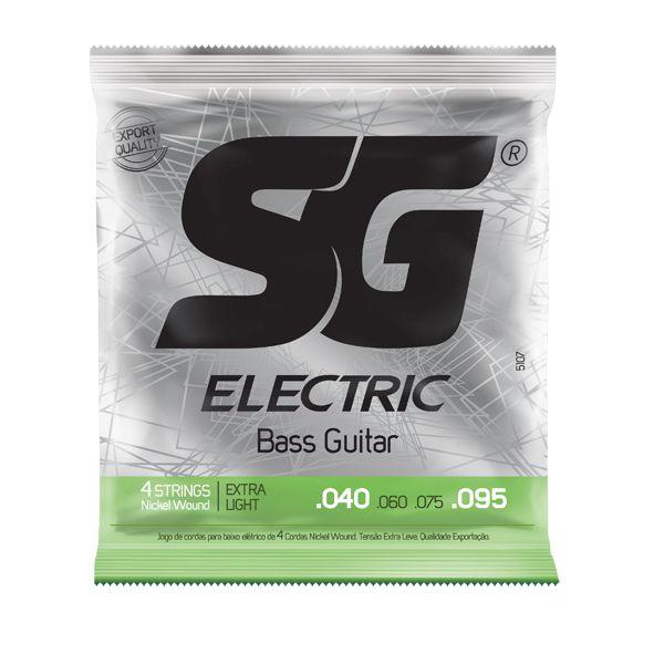 Encordoamento SG p/Baixo 4C .040 Nickel