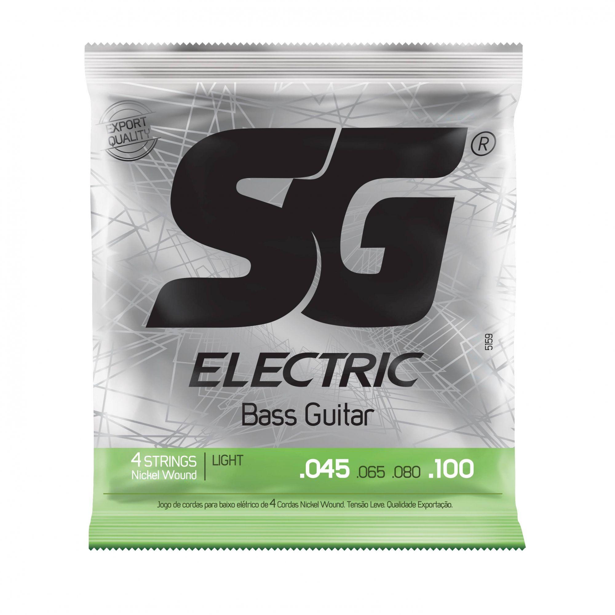 Encordoamento SG p/Baixo 4C .045 Nickel