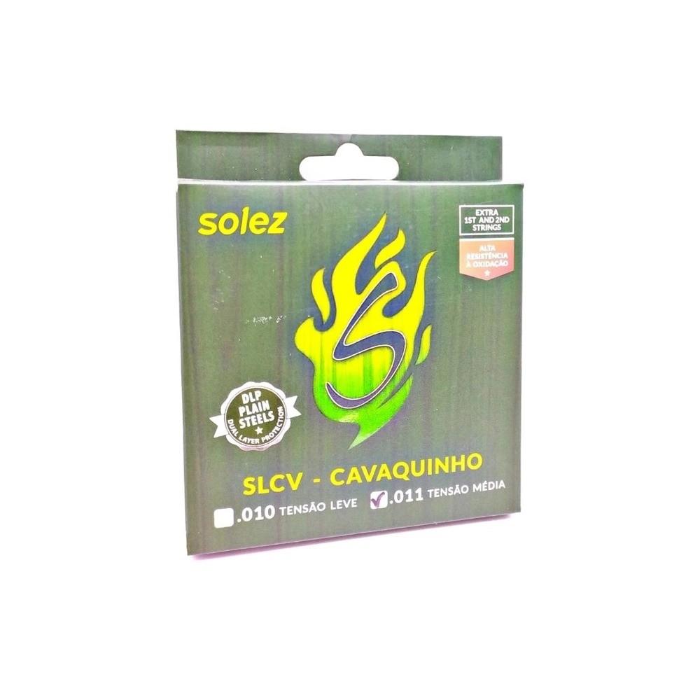 Encordoamento p/Cavaquinho SOLEZ SLCVM NBP 011/032