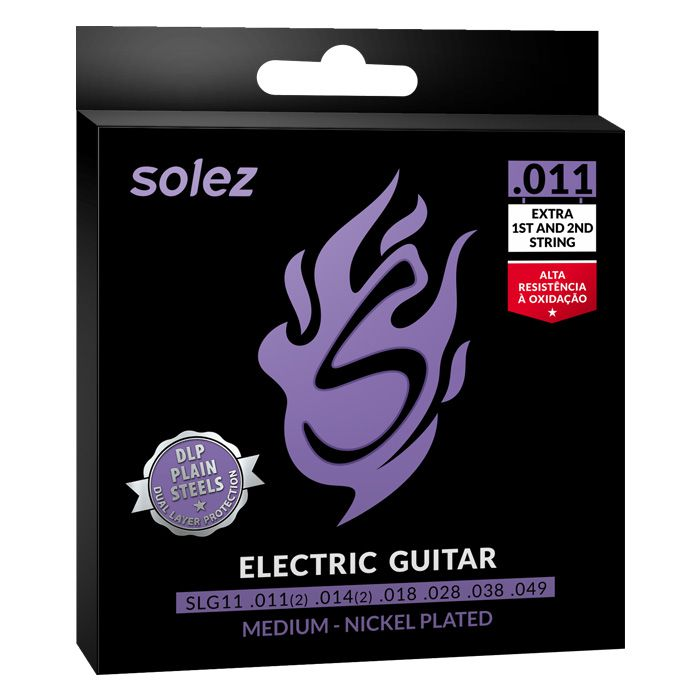 Encordoamento p/Guitarra SOLEZ DLP 0.11 SLG11