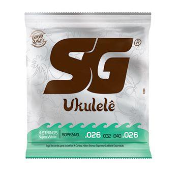 Encordoamento SG p/Ukulele Soprano Nylon