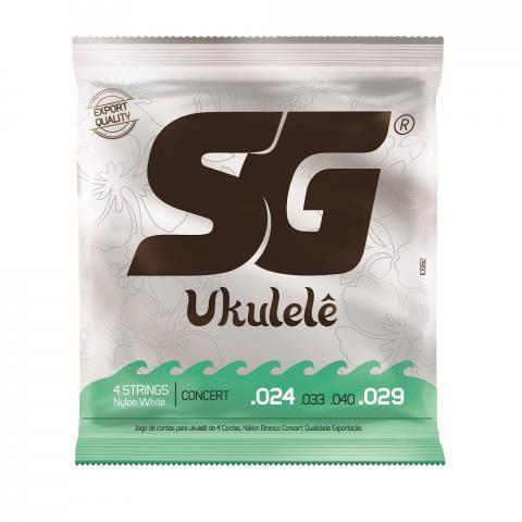 Encordoamento SG P/Ukulele Nylon Concerto