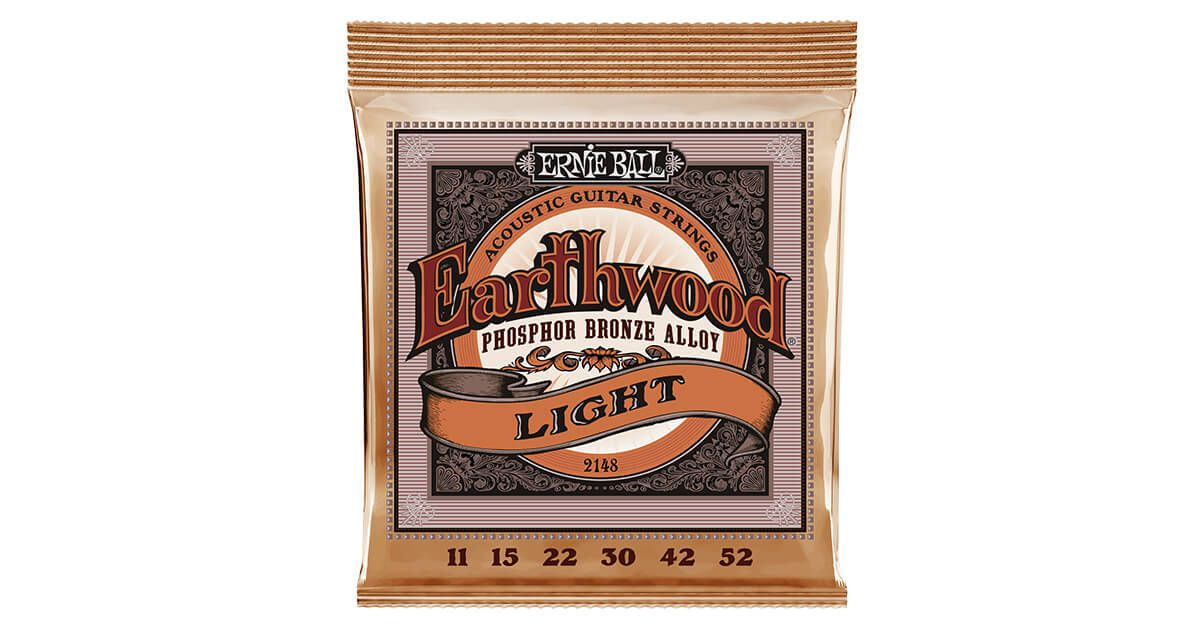Encordoamento p/ Violão Ernie Ball Earthwood Phosphor Bronze .011-P02148