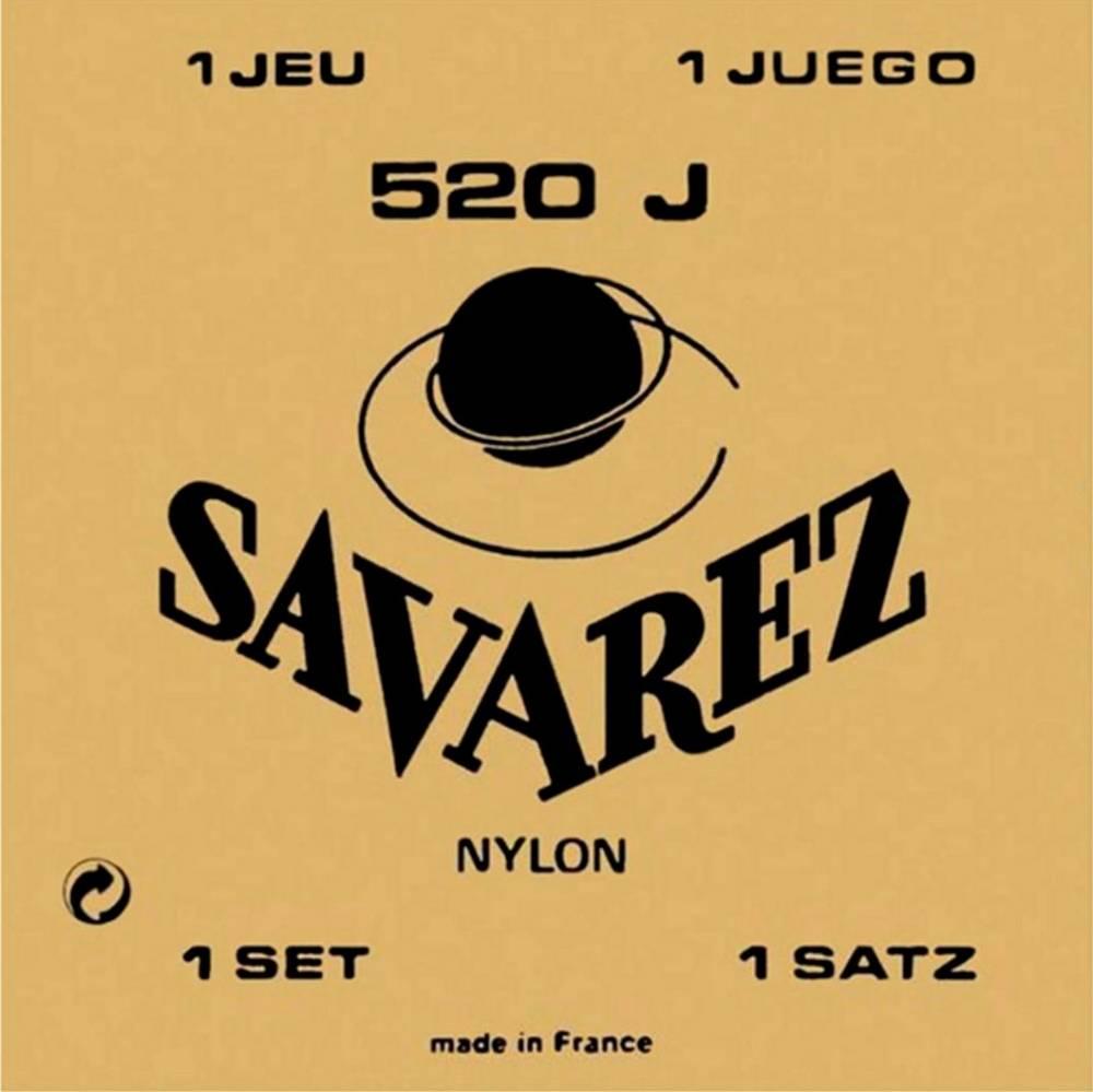 Encordoamento p/Violão Nylon Savarez  520J Super Alta