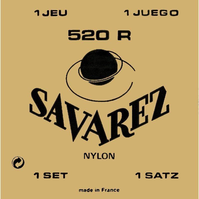 Encordoamento p/Violão Nylon Savarez  520R Tensão Alta