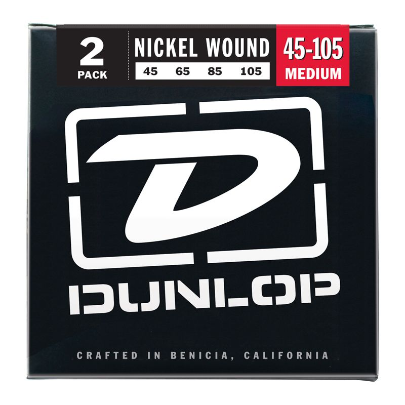 Encordoamento para Baixo 4c Dunlop 0.45 Nickel Media
