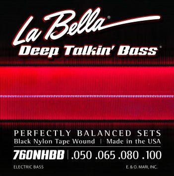 Encordoamento para Baixo 4c Labella .039 Hofner Beatle Bass 760FHB2