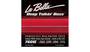Encordoamento para Baixo 4c Labella 0.60 Copper Nylon 760C