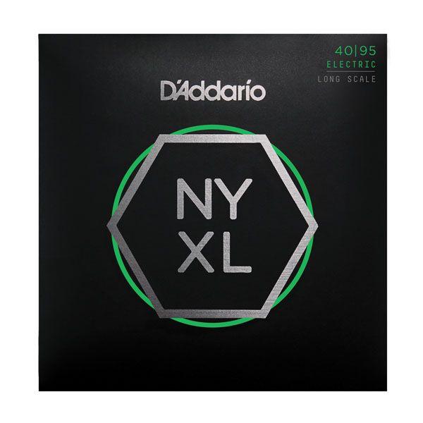 Encordoamento D'addario para Baixo 4c NYXL4095 - Longa Super Leve .040-.095