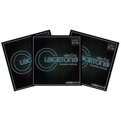 Encordoamento para Guitarra .010-52 Cleartone Nickel Plated Bottom 9420
