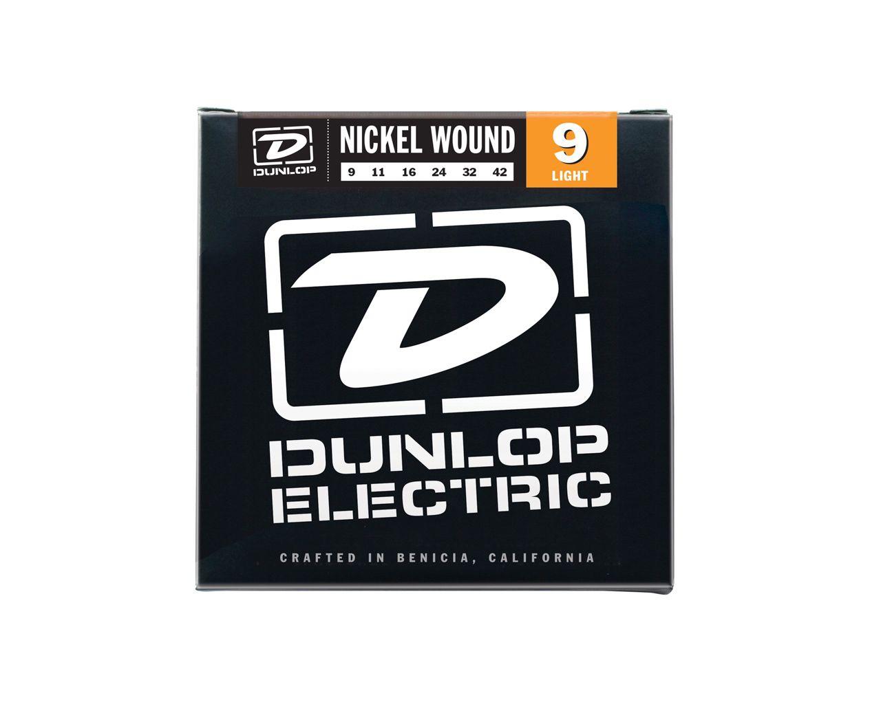 Encordoamento para Guitarra Dunlop 0.09 Leve