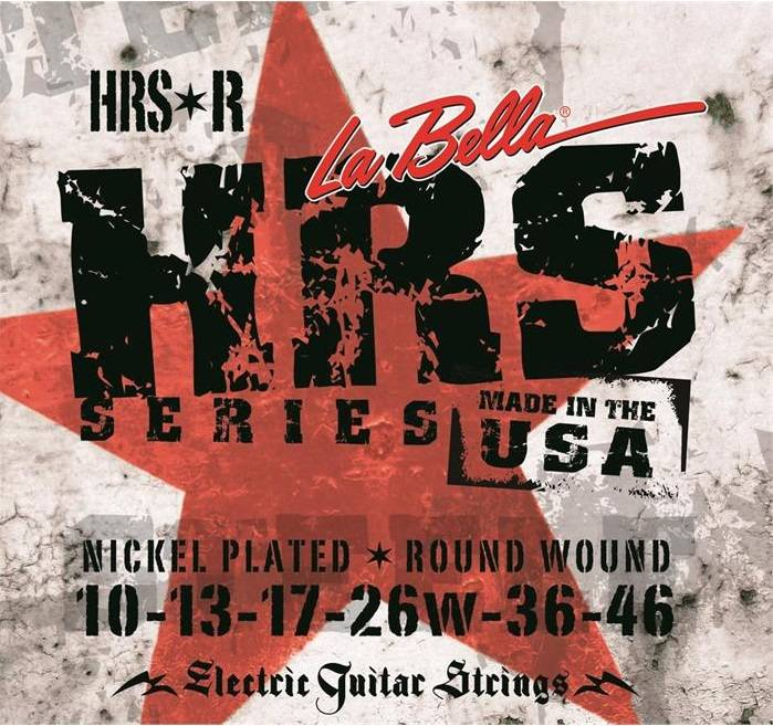 Encordoamento para Guitarra Labella .010 HRS-R