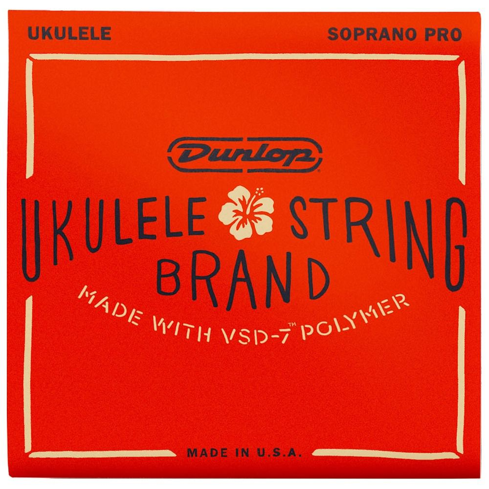 Encordoamento para Ukulele Dunlop - Soprano VSD7