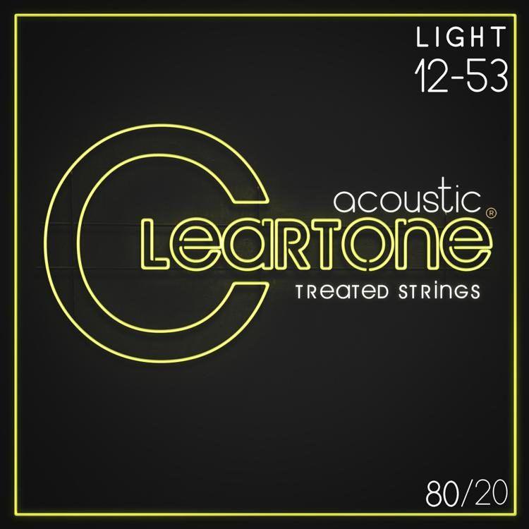 Encordoamento para Violão Aço .012 Cleartone Bronze Light