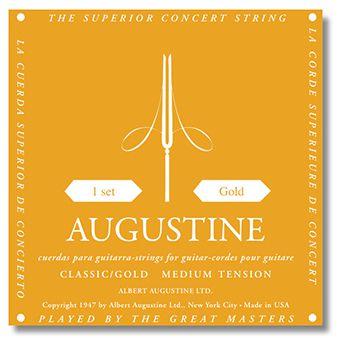 Encordoamento para Violão Nylon Augustine Gold
