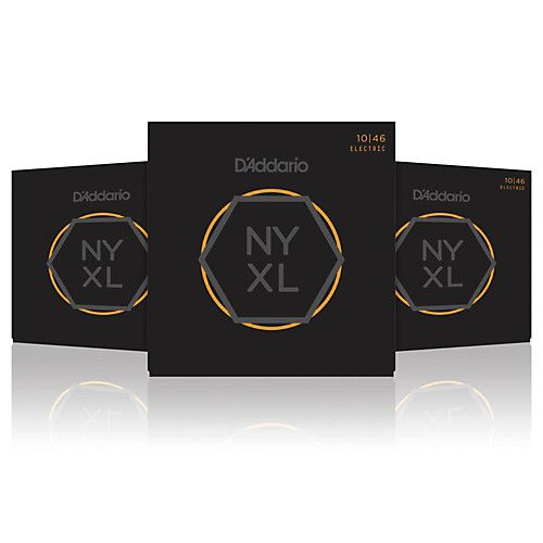 Box 3x Mais D'addario para Guitarra NYXL-1046 LIGHT