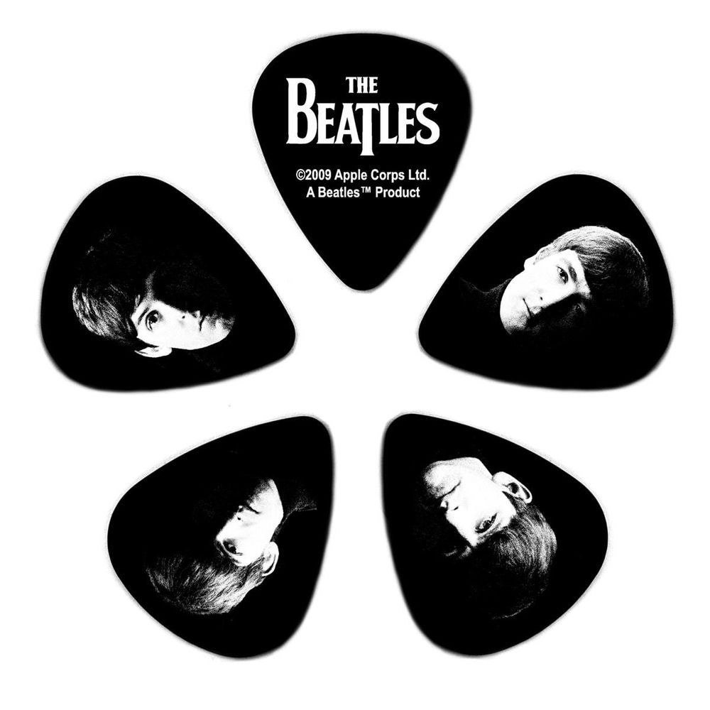 Kit de Palhetas Colecionáveis D'addario THE BEATLES MEET THE BEATLES - LIGHT 1CBK2-10B2