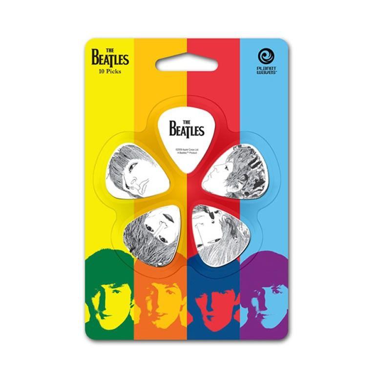 Kit de Palhetas Colecionáveis D'addario THE BEATLES REVOLVER -  Médio -1CWH4-10B1