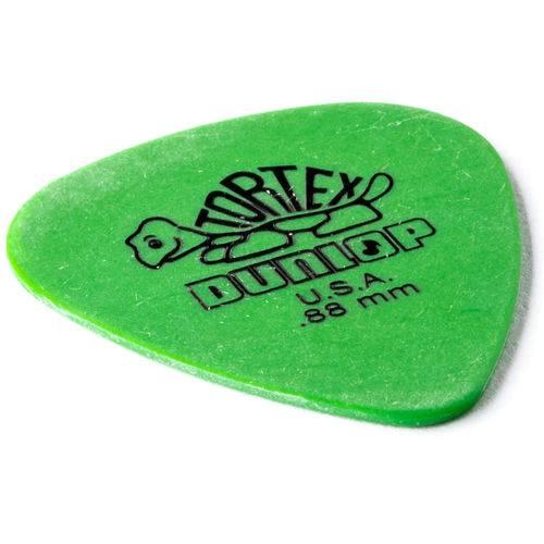 Palheta Dunlop TORTEX  0.88MM - VERDE
