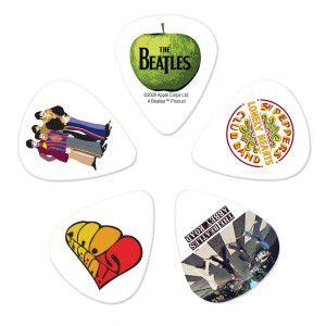Kit de Palhetas Colecionáveis D'addario THE BEATLES ALBUMS - MEDIUM 1CWH4-10B3