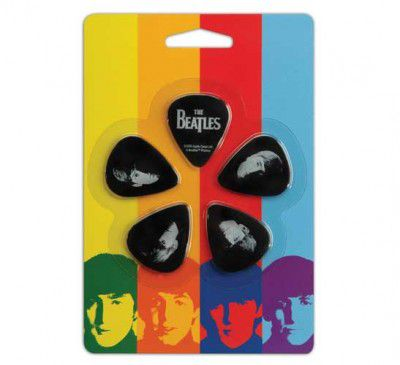 Kit de Palhetas Colecionáveis D'addario THE BEATLES MEET THE BEATLES - MEDIUM 1CBK4-10B2