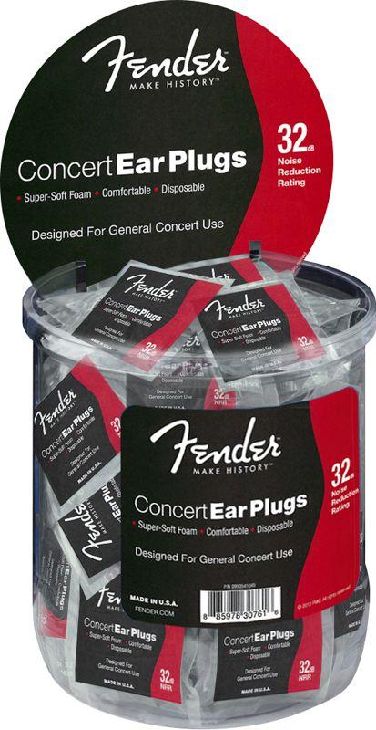Protetor Auricular Fender Concert Ear Plug