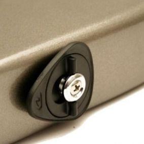 Strap Lock Dunlop ERGO Dual-Lock 7007 Black