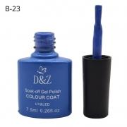 ESMALTE EM GEL D&Z - AZUL-B23