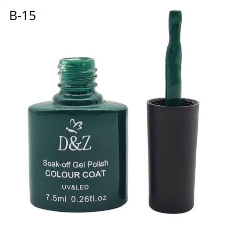 ESMALTE EM GEL D&Z - VERDE-B15