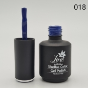 Esmalte em Gel Lírio - Azul Escuro