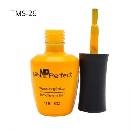 ESMALTE EM GEL NAIL PERFECT AMARELO - REF.TMS-26