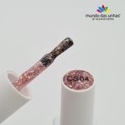 Esmalte em Gel Vitral D&Z – Glitter Flocado CS04
