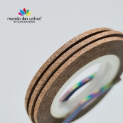 Fitilho com Glitter Cobre Escuro - M