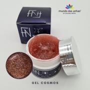 Gel Construtor com Glitter Fan Nails - 15ml - COSMOS