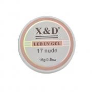 Gel LED UV 17 Nude X&D - 15g