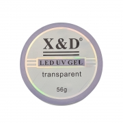 Gel LED UV Transparente Clear  X&D - 56g