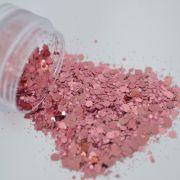 Glitter Rosa Flocado - Glitter Blendz