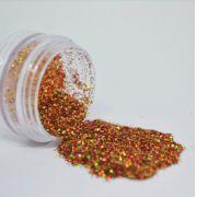Glitter Dourado Escuro Furta-cor - Glitter Blendz