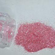 Glitter Rosa Fino - Glitter Nails