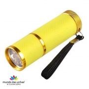 Lanterna de LED para secagem de unhas - AMARELA