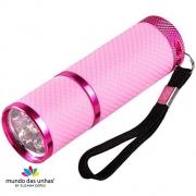 Lanterna de LED para secagem de unhas - ROSA