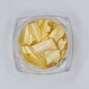 Madrepérola grande para decoração - Amarelo