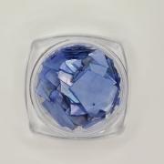 Madrepérola grande para decoração - Azul