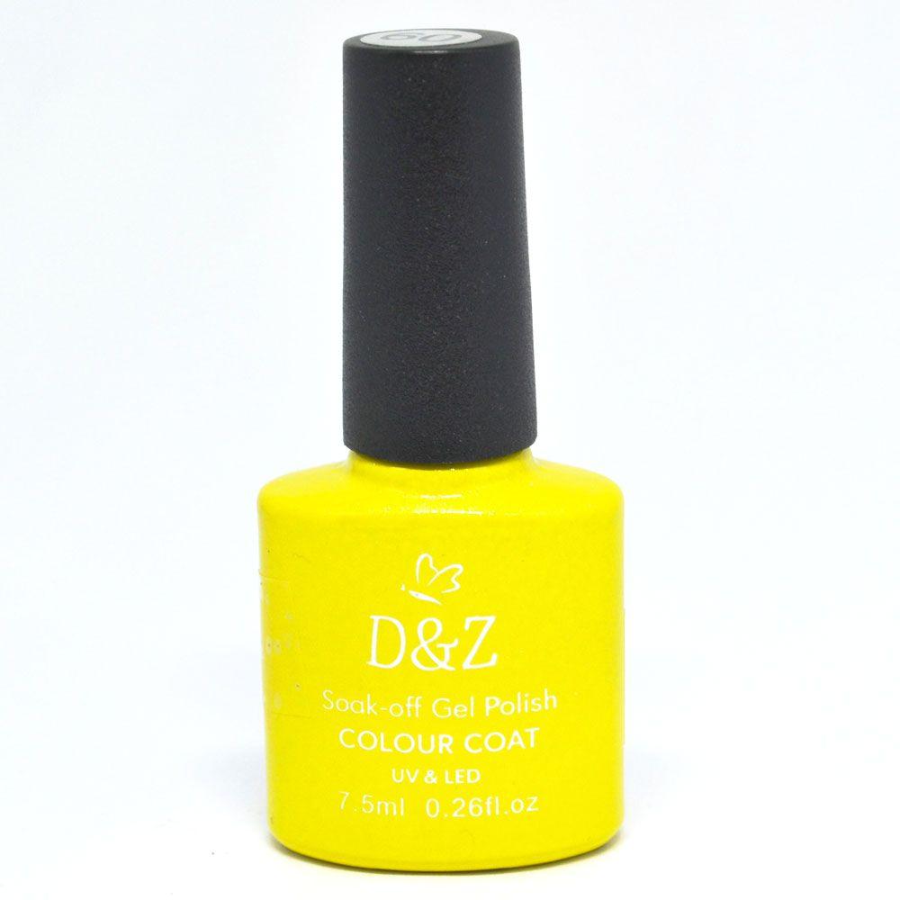 Esmalte em Gel Amarelo Ref. 223 7,5 ml - D&Z