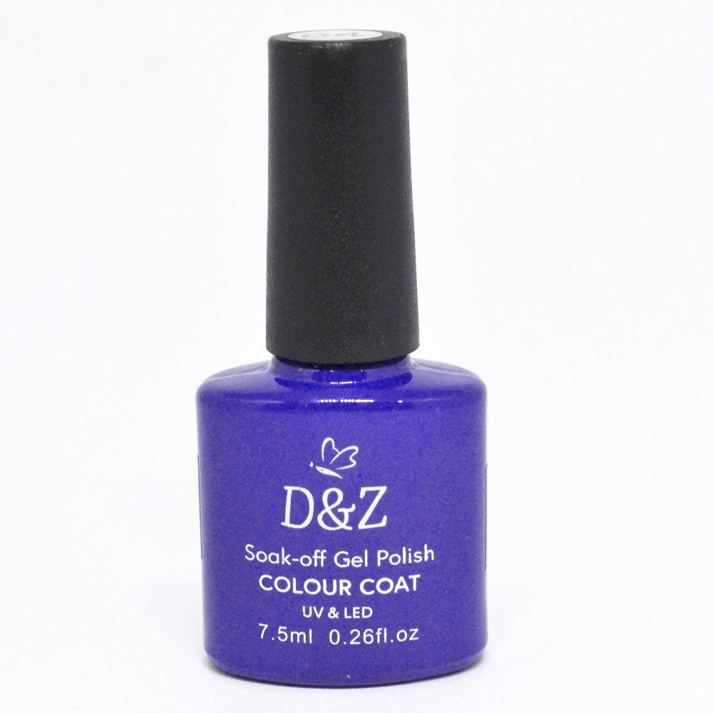 Esmalte em Gel Azul Ref. 221 7,5ml - D&Z